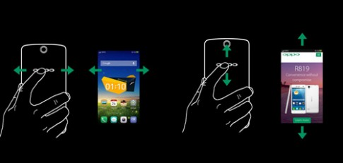 Smartphone Full HD 5,9 inch với mặt lưng hỗ trợ cảm ứng