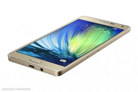 Smartphone Galaxy A7 mỏng nhất của Samsung trình làng