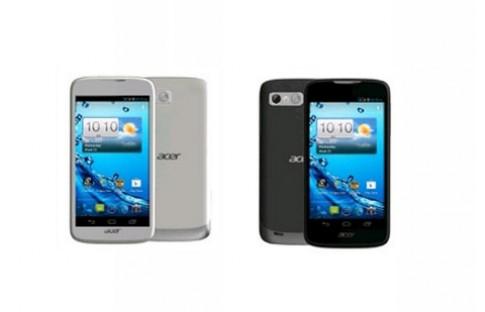 Smartphone hai SIM, chip lõi kép của Acer lộ diện