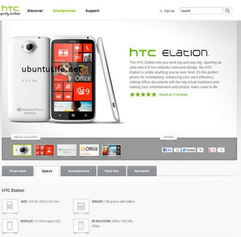 Smartphone HTC sắp ra mắt bị tung ảnh giả
