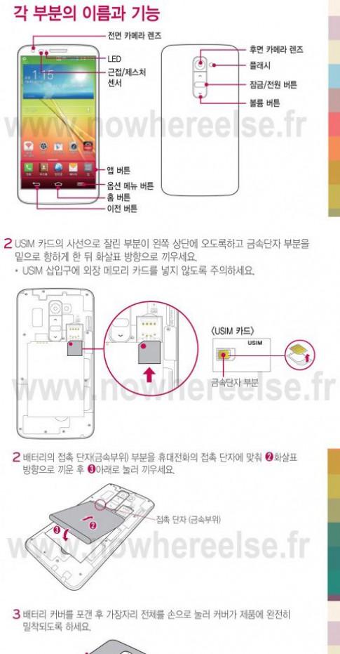 Smartphone 'khủng' nhất của LG sử dụng nanoSim như iPhone 5