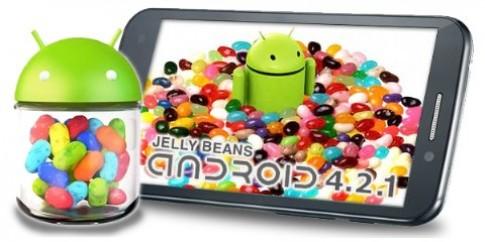 Smartphone lõi tứ giá rẻ đầu tiên được cập nhật Android 4.2