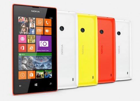Smartphone Lumia 525 giá rẻ RAM 1 GB trình làng