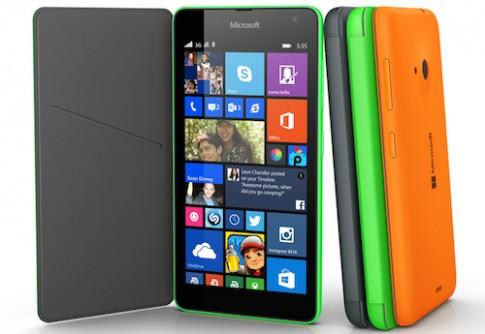 Smartphone Lumia đầu tiên của Microsoft sẽ về VN tháng 12