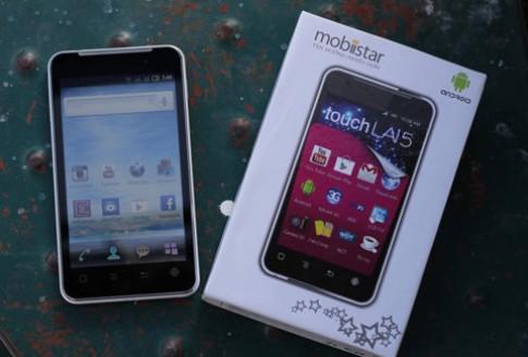 Smartphone màn hình 5 inch giá 4,5 triệu