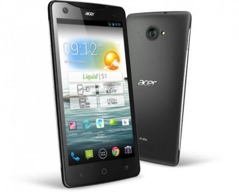 Smartphone màn hình 5,7 inch giá mềm từ Acer