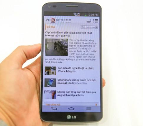 Smartphone màn hình cong LG sẽ khoảng 18 triệu đồng