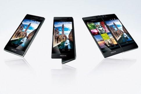 Smartphone màn hình gập gây chú ý tại MWC
