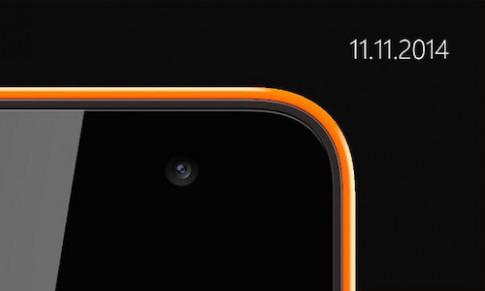 Smartphone Microsoft Lumia đầu tiên có thể ra mắt ngày 11/11