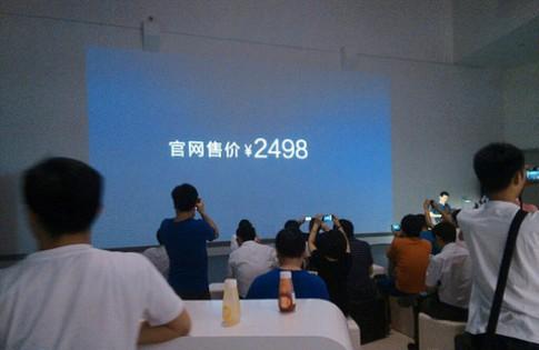 Smartphone mỏng nhất thế giới giá bằng nửa iPhone