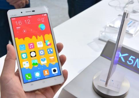 Smartphone mỏng nhất thế giới trình làng với 'số đo' 4,75 mm