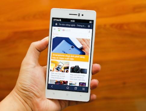 Smartphone mỏng nhất Việt Nam có giá gần 10 triệu đồng