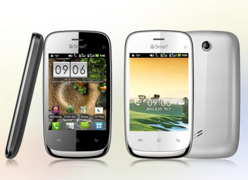 Smartphone Q-Smart S1 giá chỉ bằng feature phone