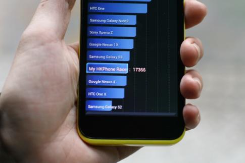 Smartphone RACER thể hiệnđiểm hiệu năngấn tượng