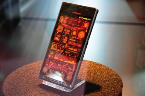 Smartphone Sharp SH-06D Nerv đặc biệt
