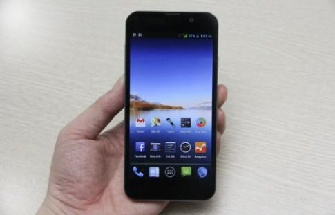 Smartphone siêu mỏng giá 5,7 triệu đồng