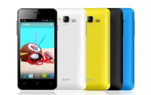 Smartphone 'tắc kè hoa' - FPT F52 cho giới trẻ
