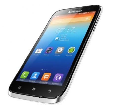 Smartphone tầm trung dùng chip lõi tứ Lenovo A859 về VN