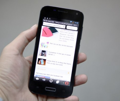 Smartphone thương hiệu Việt đầu tiên có cổng mini HDMI