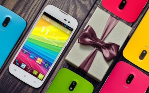 Smartphone Touch BEAN 452c đa sắc màu cho giới trẻ