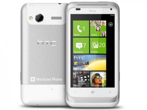 Smartphone Windows Phone 7 vừa ra mắt