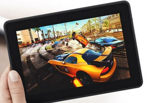 So cấu hình Kindle Fire HDX với iPad Mini