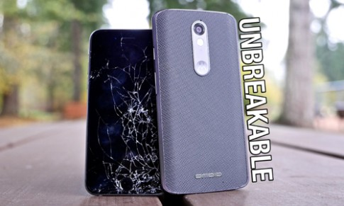 So độ bền smartphone màn hình 'không thể vỡ' với các siêu phẩm