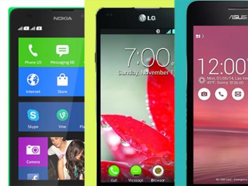 So sánh 3 smartphone tầm trung: Zenfone 5, Optimus G, Nokia XL