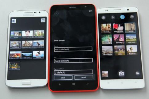 So sánh bộ ba smartphone màn hình lớn giá tốt (2)