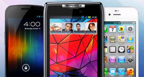 So sánh Galaxy Nexus, iPhone 4S và Droid RAZR