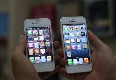 So sánh iPhone 5 và iPhone 4S