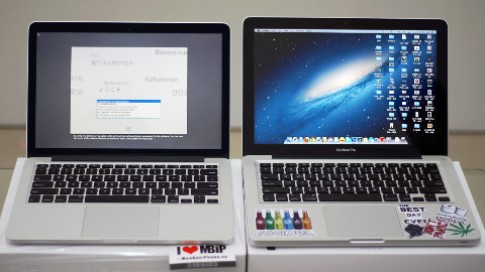 So sánh Macbook Pro 13 inch và Macbook Pro 2012