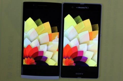 So sánh màn hình Sony Xperia Z và Oppo Find 5