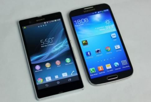 So sánh Samsung Galaxy S4 và Sony Xperia Z