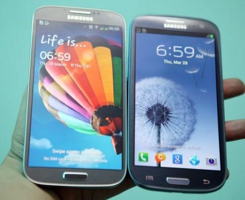 So sánh thiết kế S4 và S III