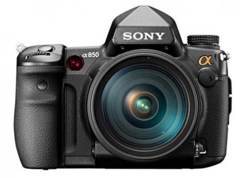 Sony A850, máy ảnh Full-Frame giá rẻ