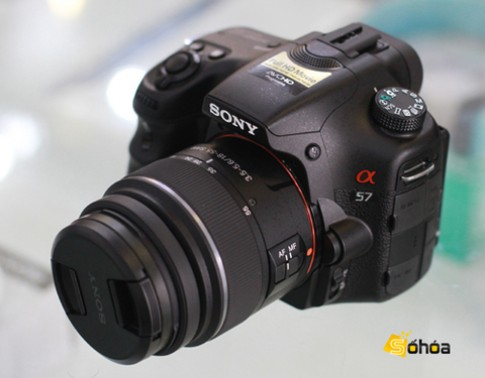 Sony Alpha A57 sắp bán ở VN