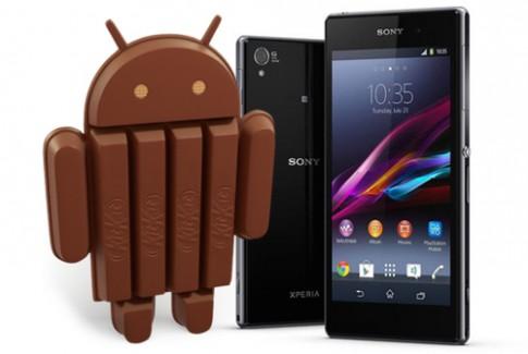 Sony cập nhật Android KitKat cho dòng Xperia Z 2013