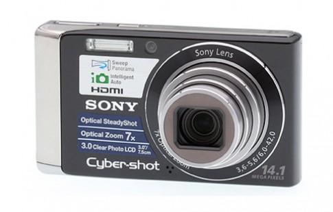 Sony Cybershot W370 máy rẻ zoom dài