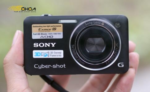Sony Cybershot WX5 chụp ảnh 3D