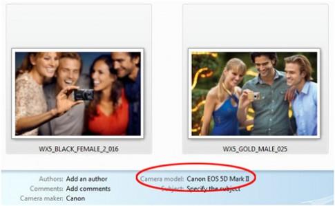 Sony dùng 5D Mark II chụp ảnh quảng cáo