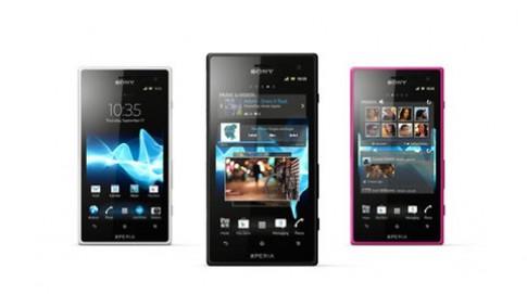 Sony giới thiệu 2 smartphone chống nước mới