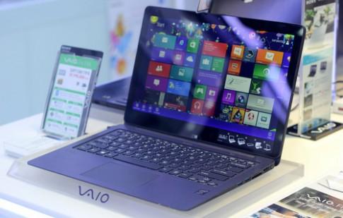 Sony giới thiệu laptop VAIO biến hình ở Hà Nội