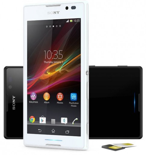 Sony giới thiệu smartphone 5 inch dùng chip 4 nhân giá rẻ