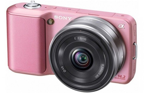 Sony NEX-3 màu hồng ra mắt tháng 11 tới