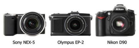 Sony NEX-5 'khoe' khả năng khử nhiễu