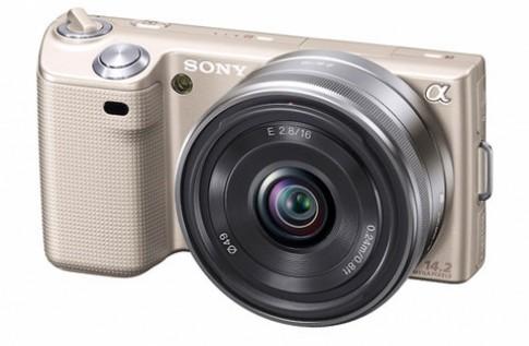Sony NEX 5 thêm bản màu vàng
