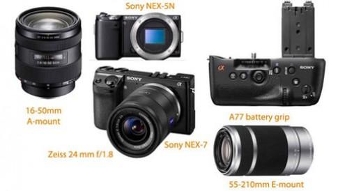 Sony NEX-7, Alpha A77 có thể ra mắt ngày 24/8
