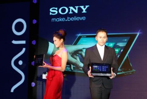 Sony ra bo ba laptop Vaio cam ung o Viet Nam