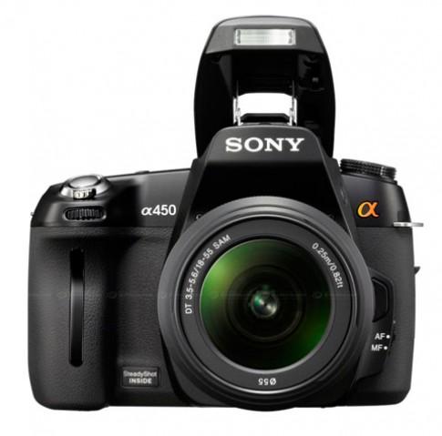 Sony ra mắt Alpha A450